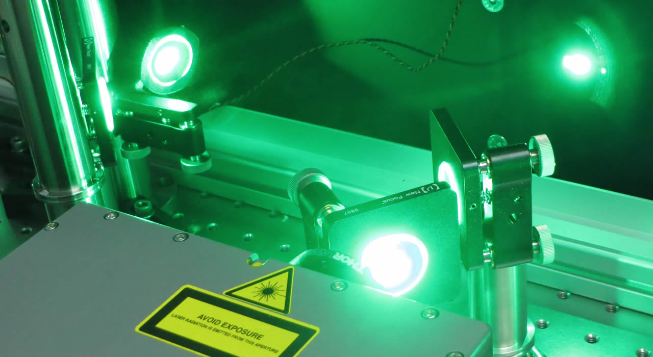 Femtosecond Laser source at ASL.